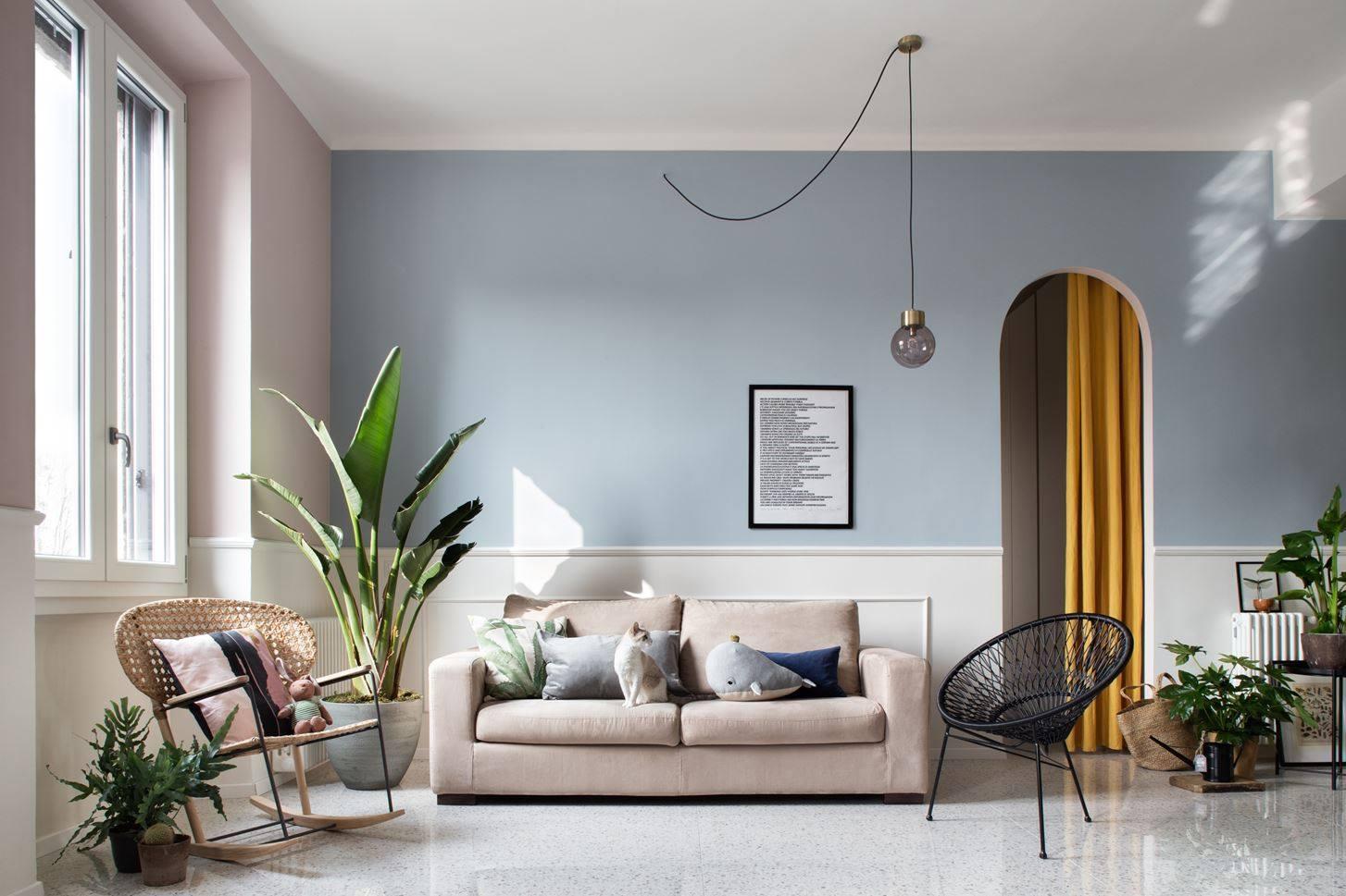 phong cách tropical cho phòng khách
