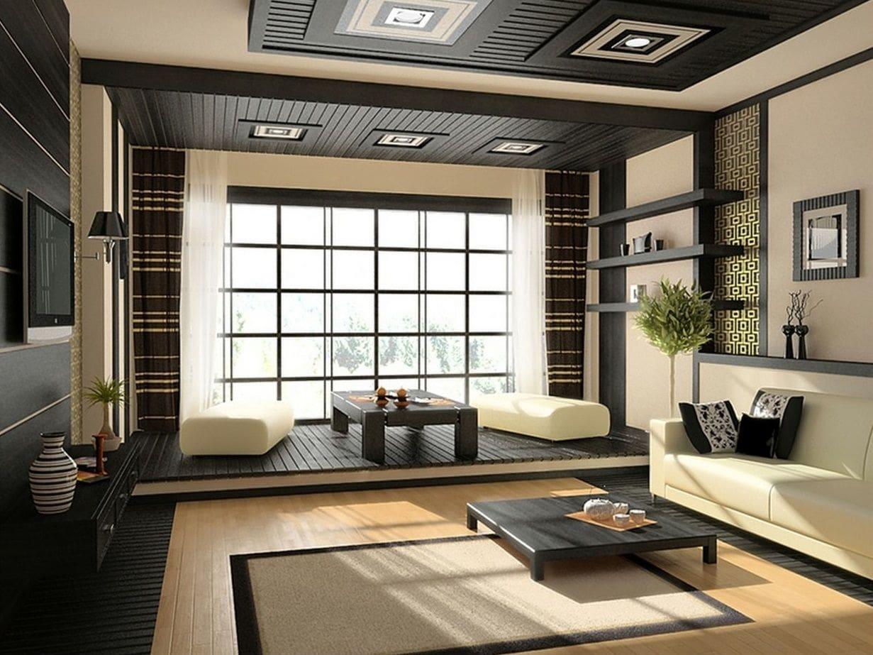 phong cách nội thất nhật cho không gian sống