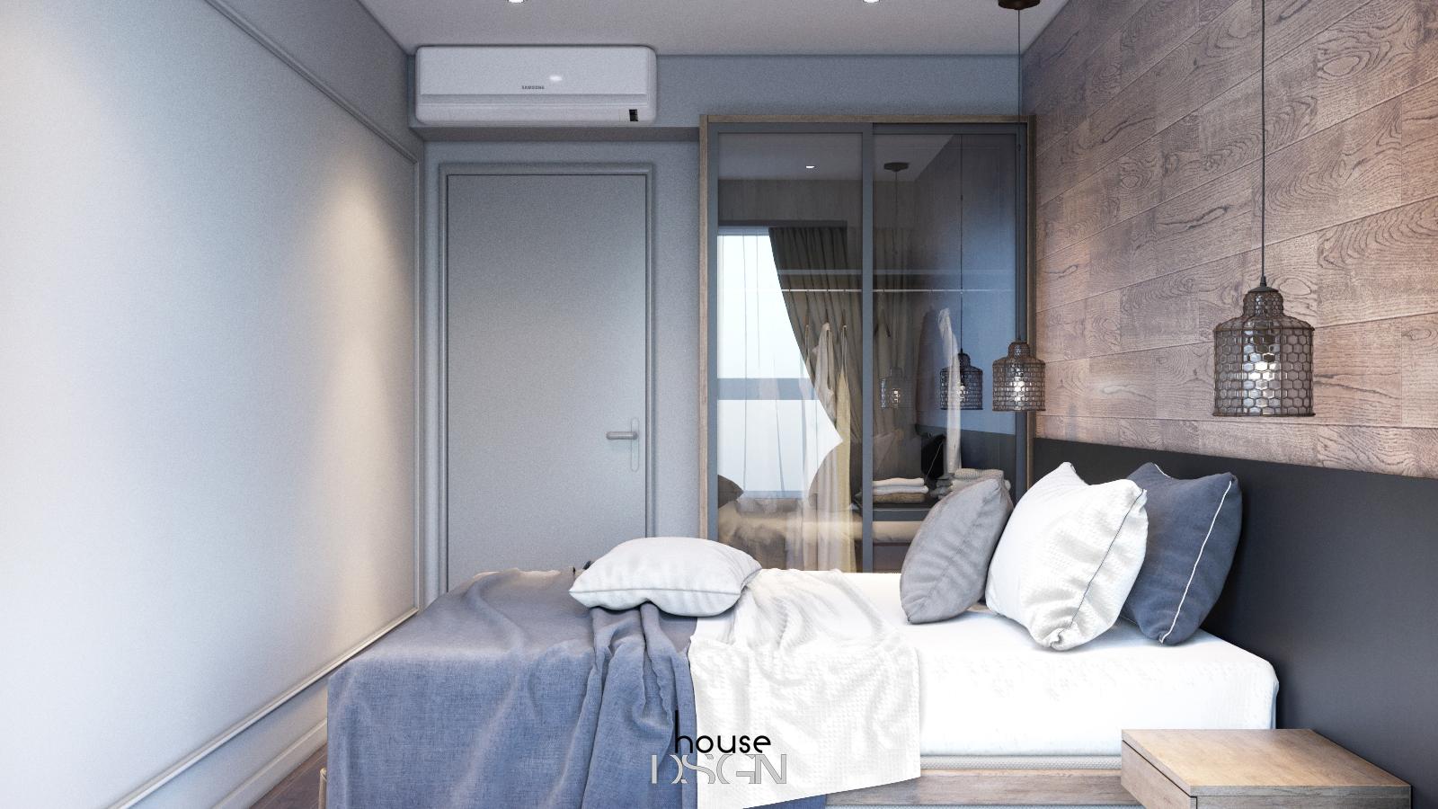 thiết kế phong cách đồng quê cho phòng ngủ đẹp