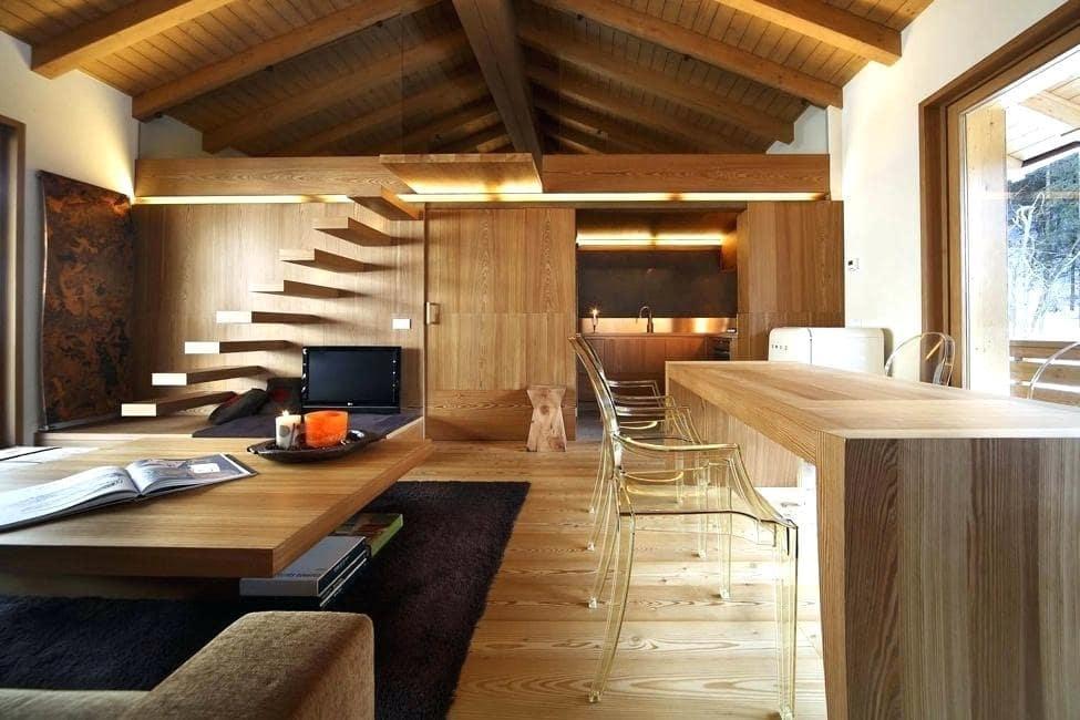 mẫu nhà vật liệu gỗ đẹp đơn giản