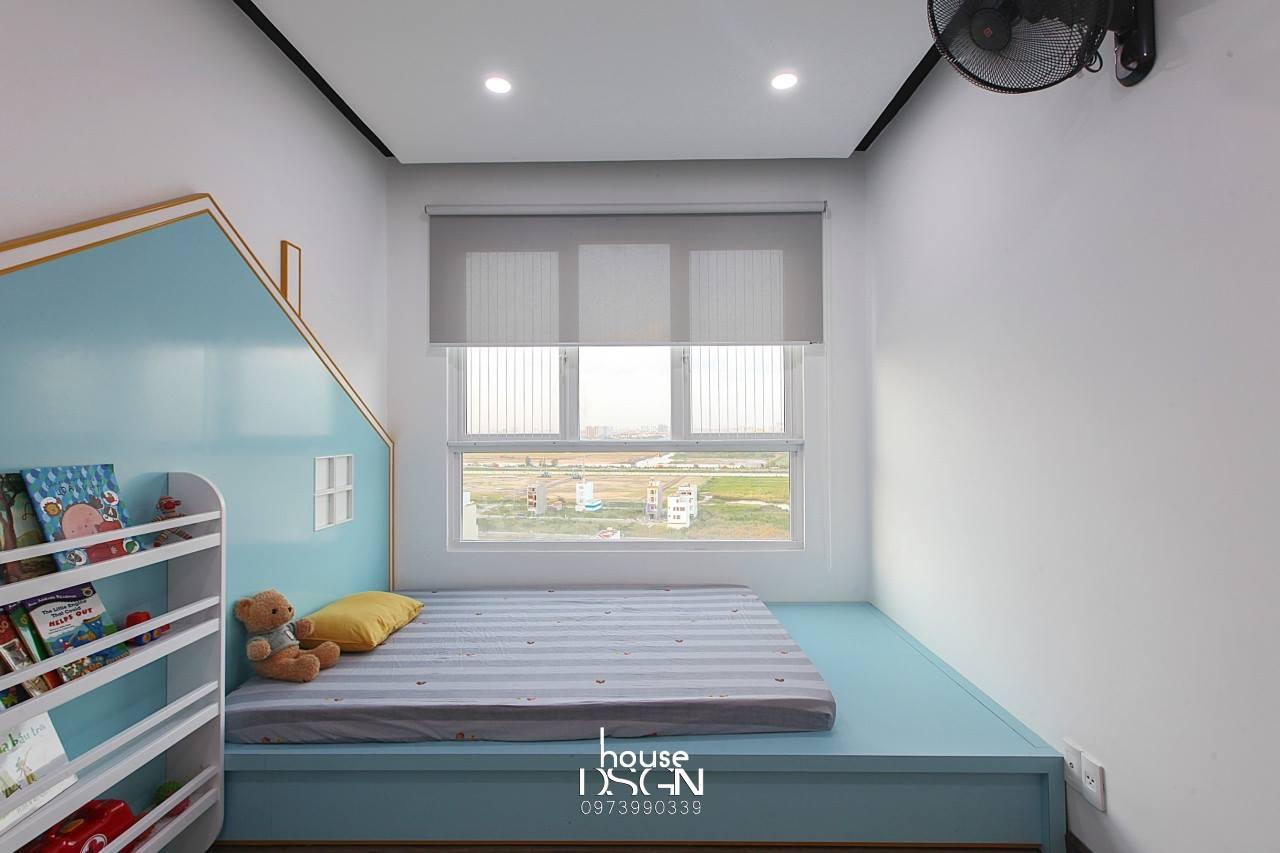 căn hộ 3 phòng ngủ cho bé đẹp