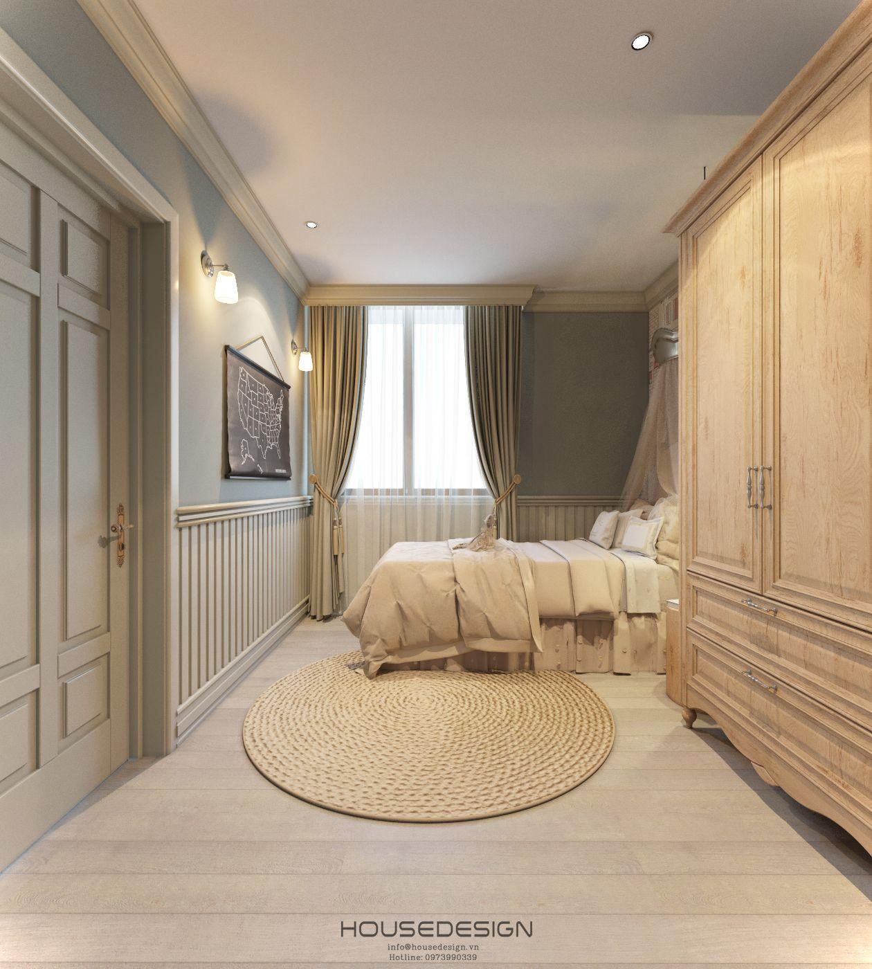 phòng ngủ phong cách scandinavian