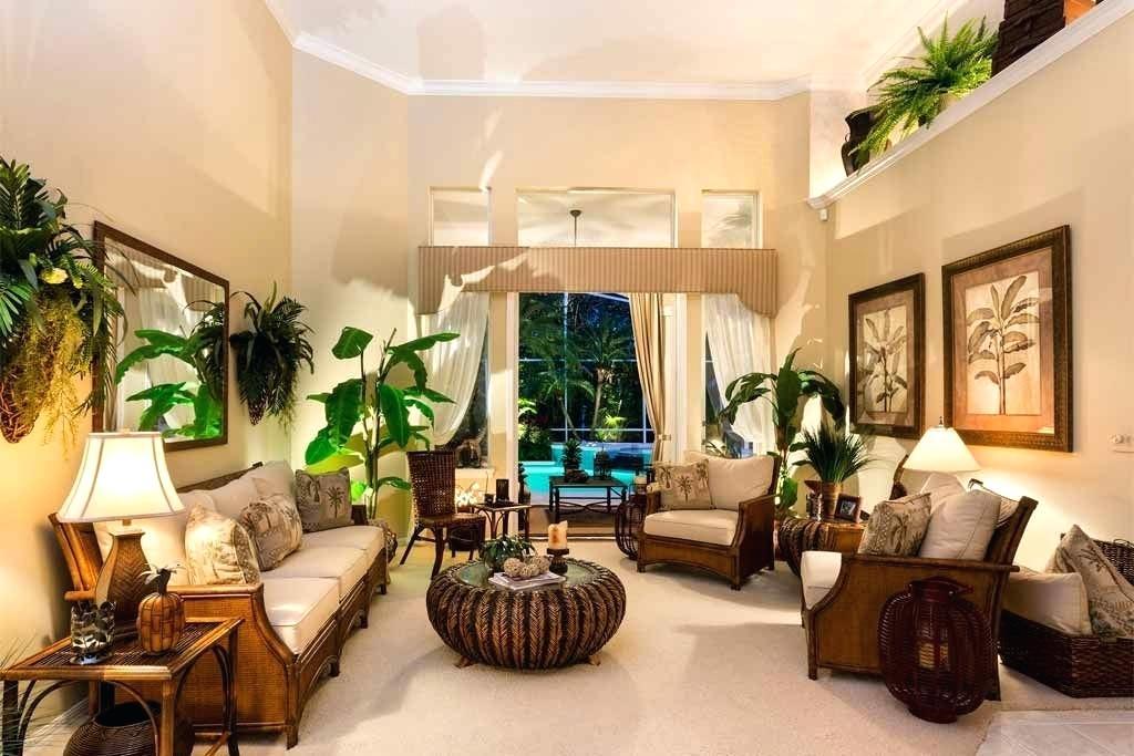 phong cách tropical trong thiết kế nội thất