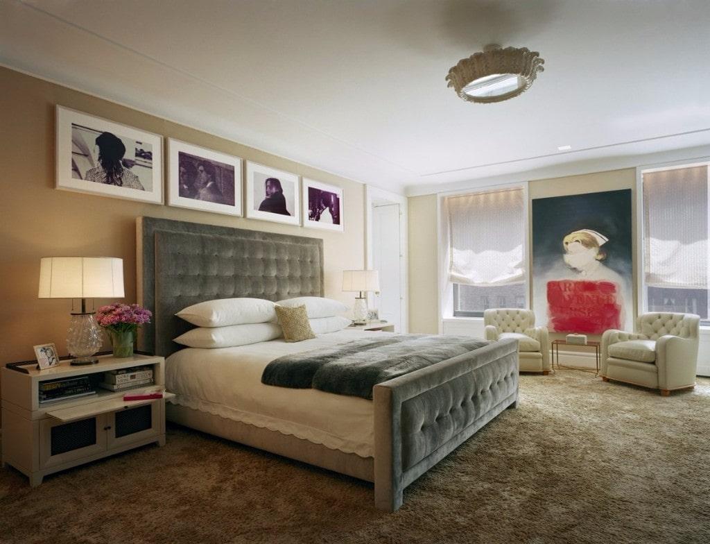 thiết kế nội thất chiết trung cho phòng ngủ