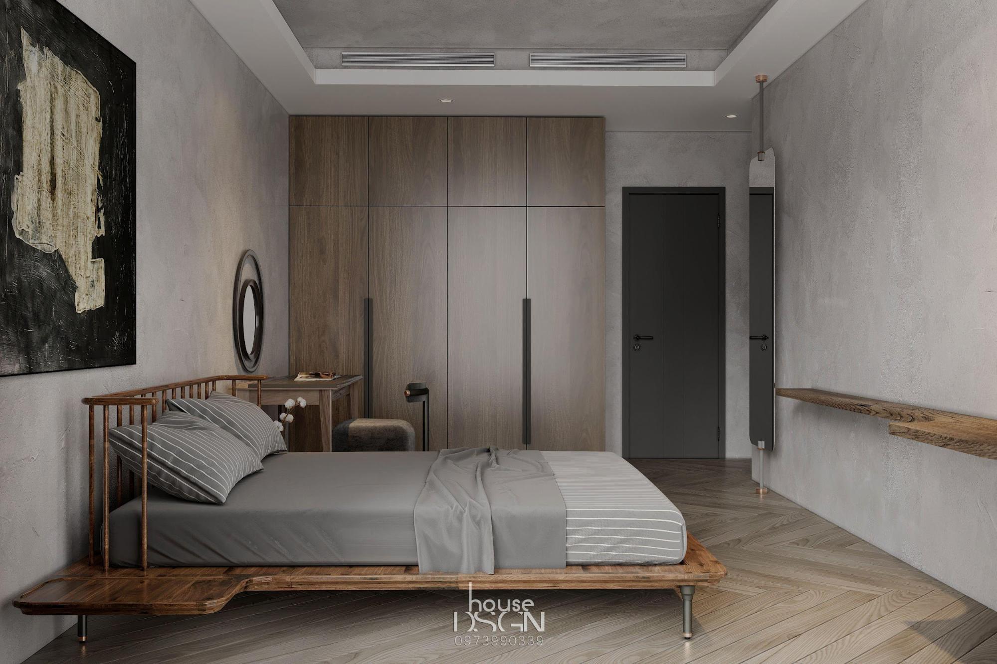 phòng ngủ trang trí theo phong cách nội thất tối giản chuyên nghiệp