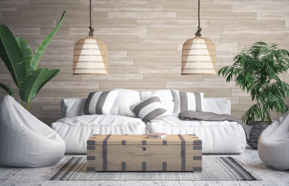 đồ nội thất tropical cho phòng khách