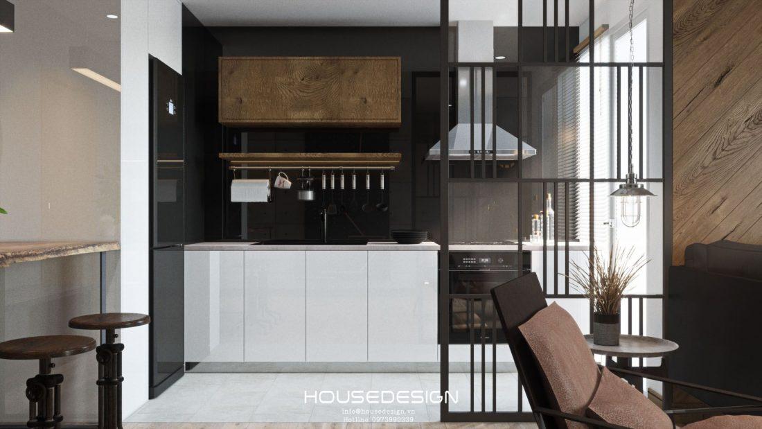 Interior design of apartment 60m2