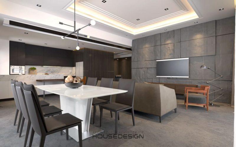 phong cách kiến trúc đồ nội thất hiện đại