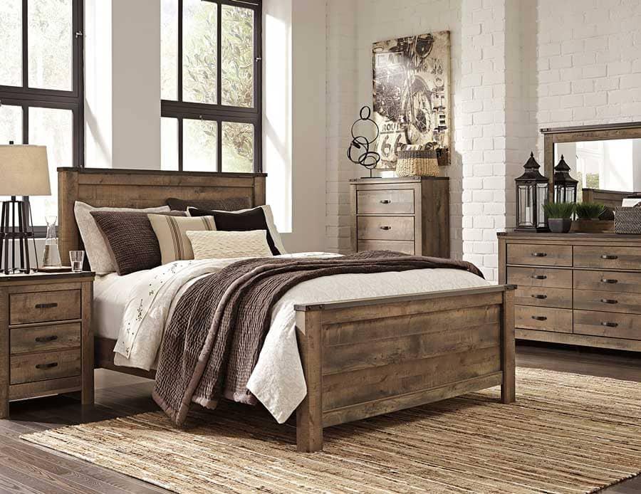 màu chủ đạo cho phòng ngủ theo thiết kế đồng quê