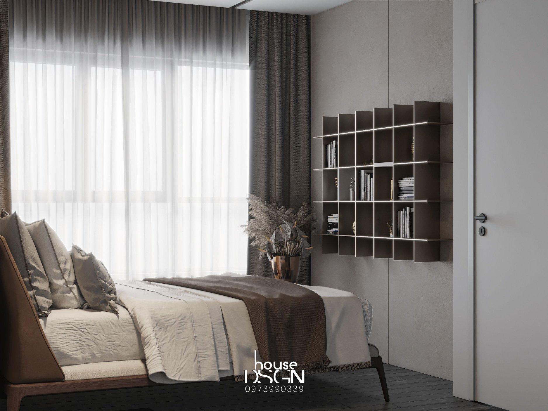 mẫu chung cư 3 phòng ngủ ấn tượng