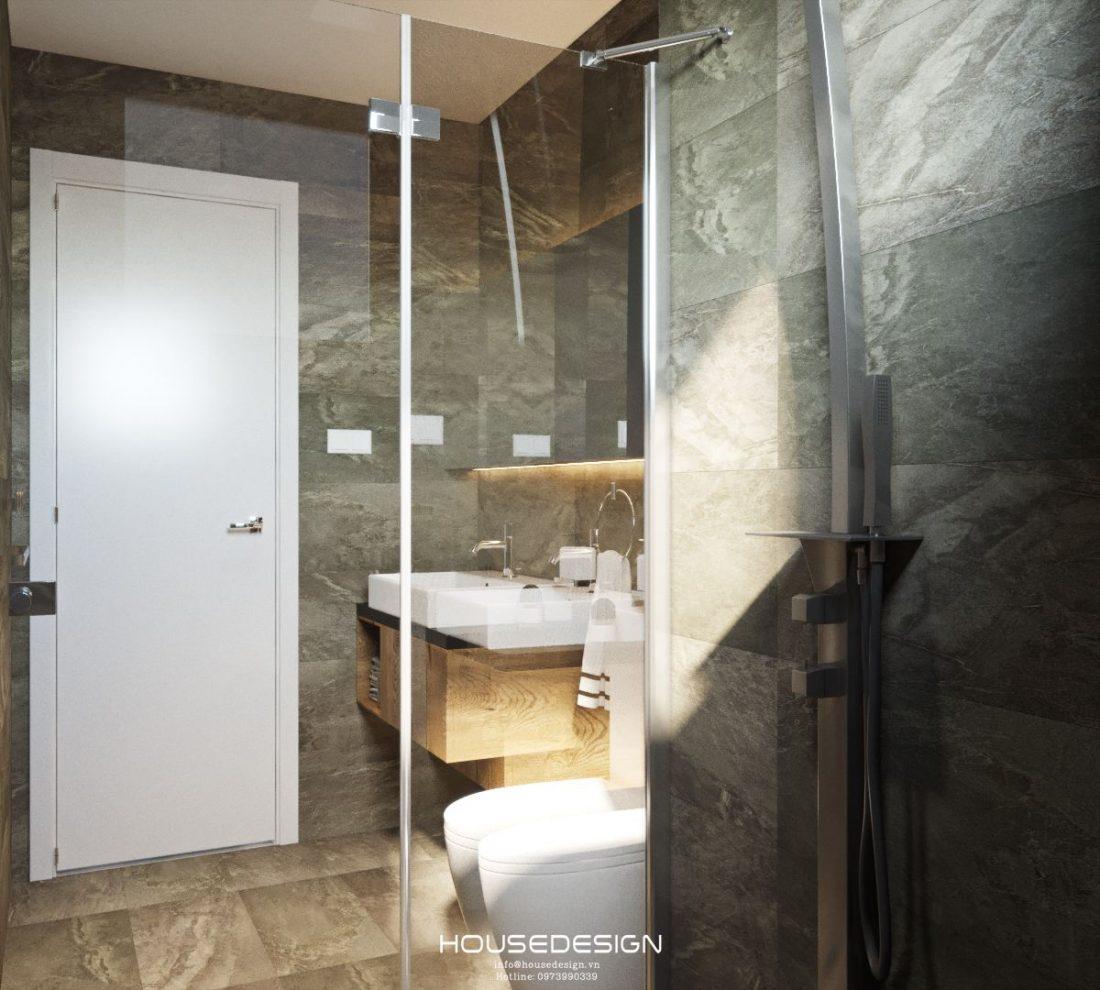 mẫu nội thất căn hộ 60m2 ấn tượng