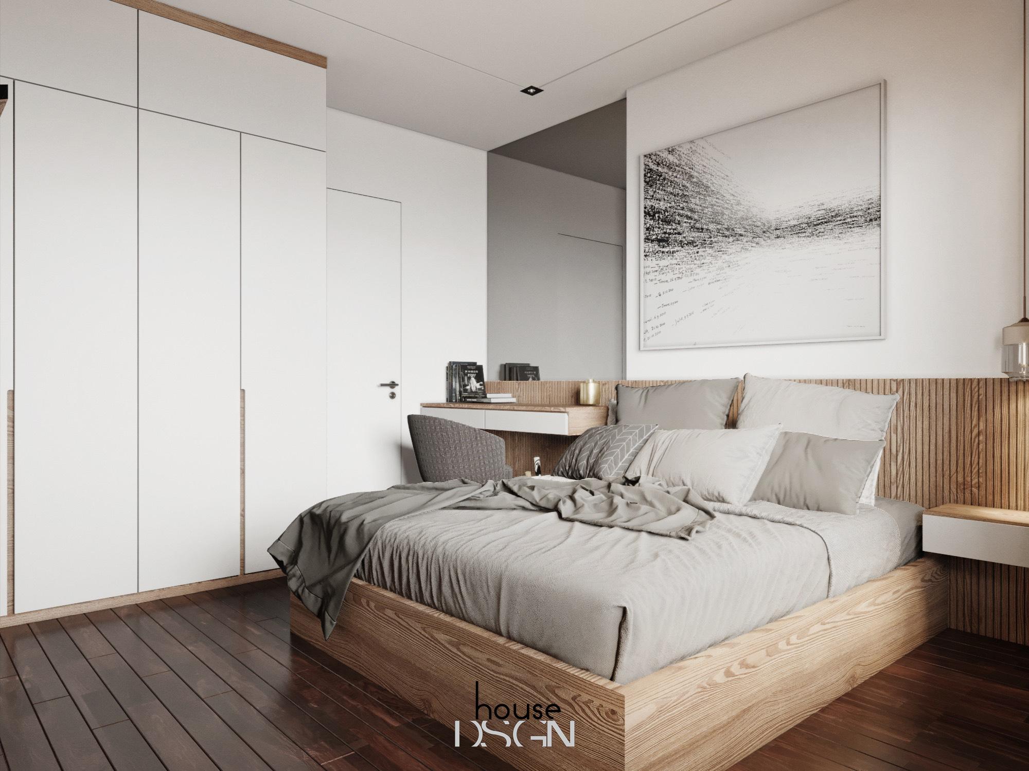 mẫu nội thất chung cư 60m2 ấn tượng