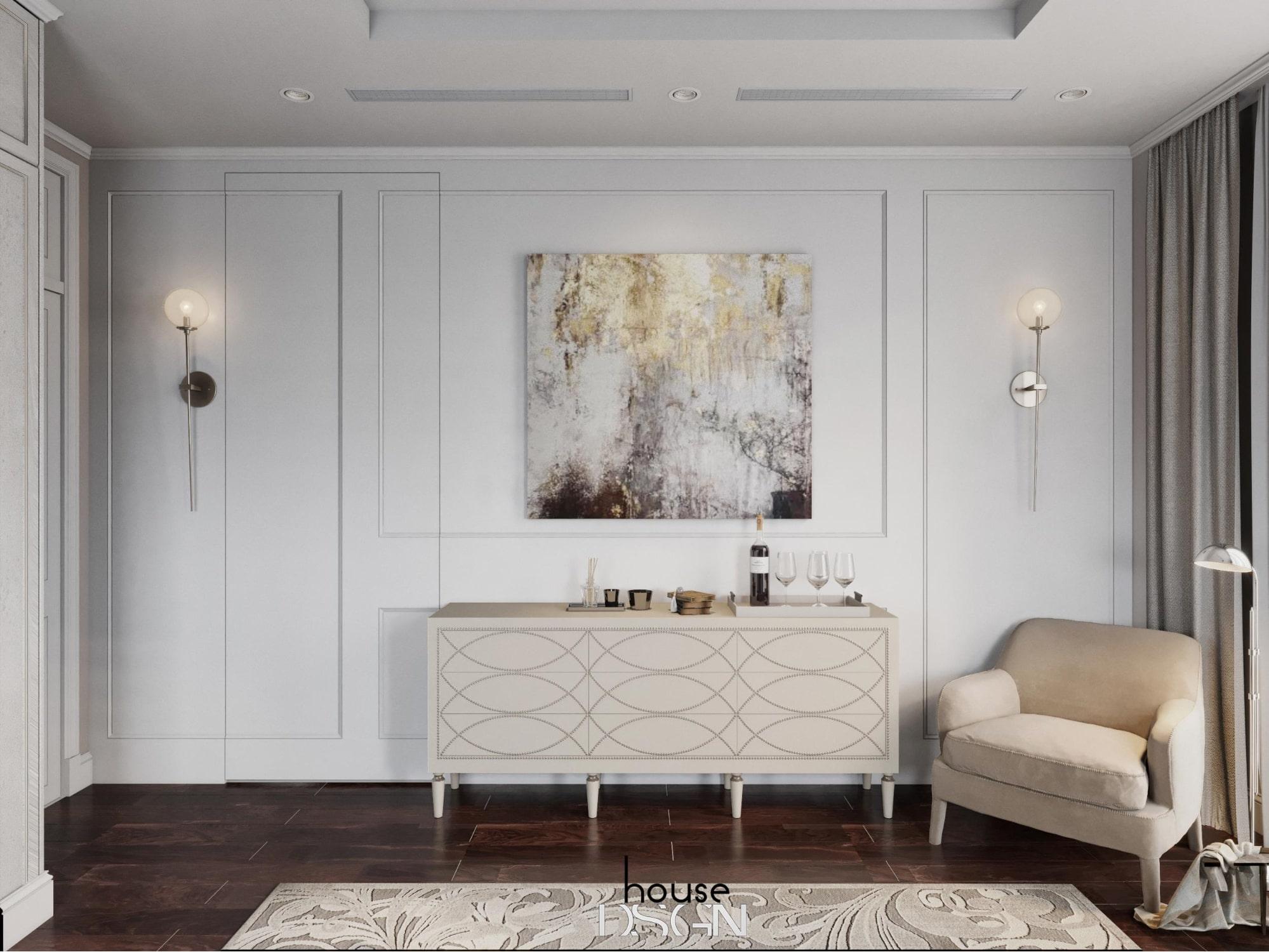 mẫu phong cách thiết kế nội thất biệt thự hiện đại