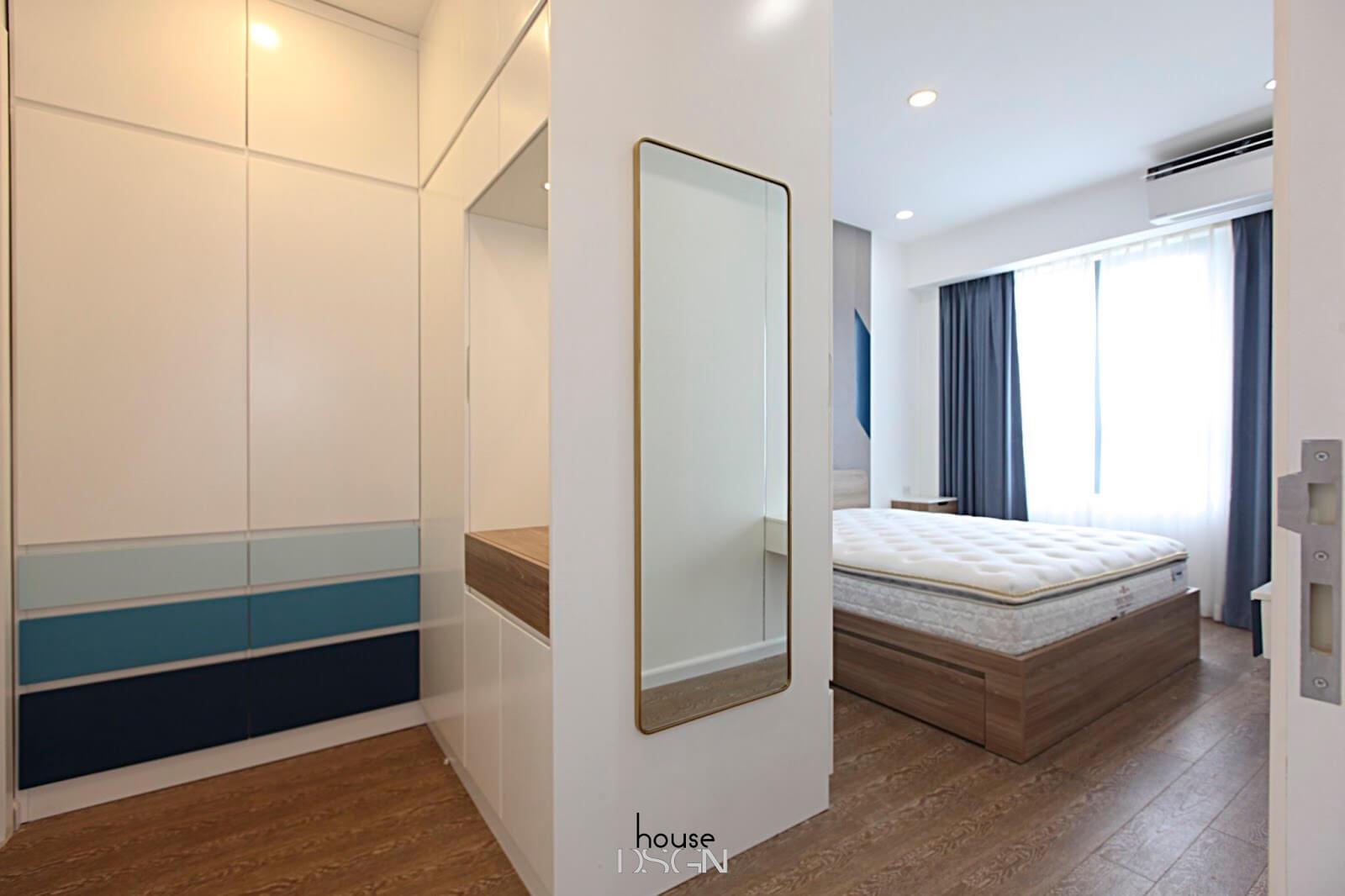 thiết kế mẫu phòng ngủ phong cách bắc âu
