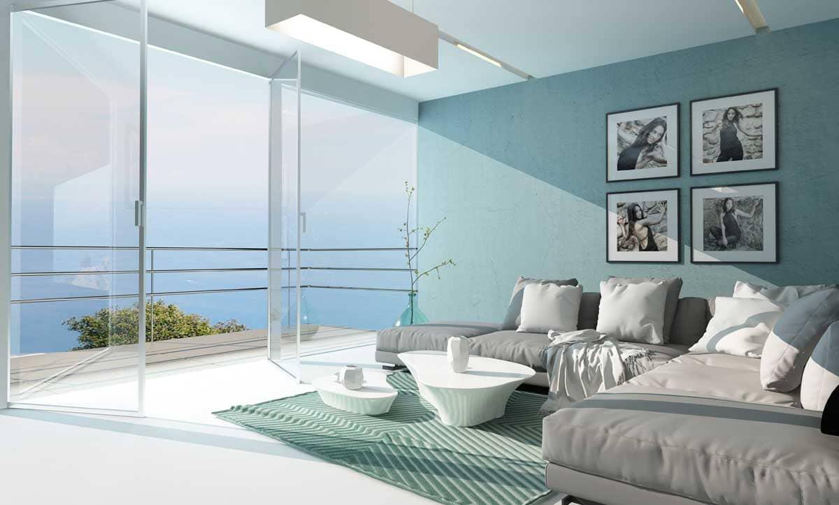 màu sắc phong cách coastal