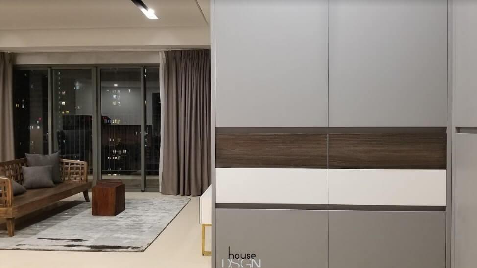 mẫu thiết kế nội thất chung cư 65m2 tiện nghi
