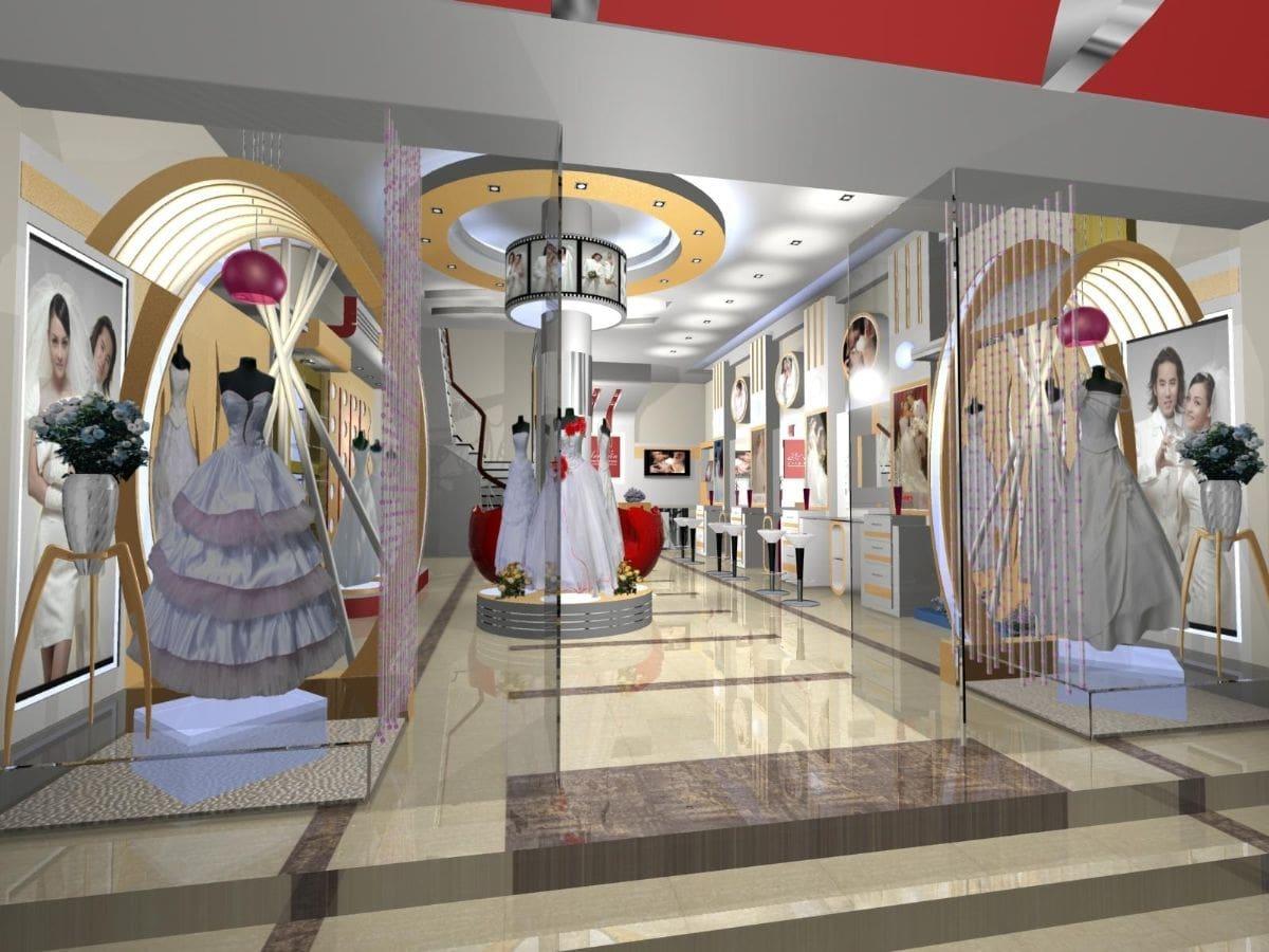 mẫu thiết kế nội thất cửa hàng chất lượng
