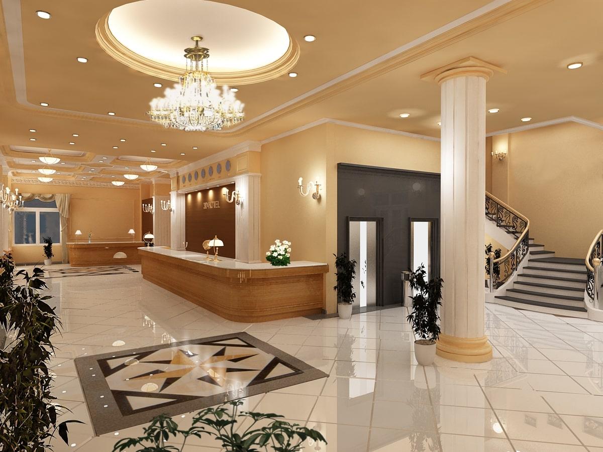 tìm hiểu mẫu thiết kế nội thất khách sạn