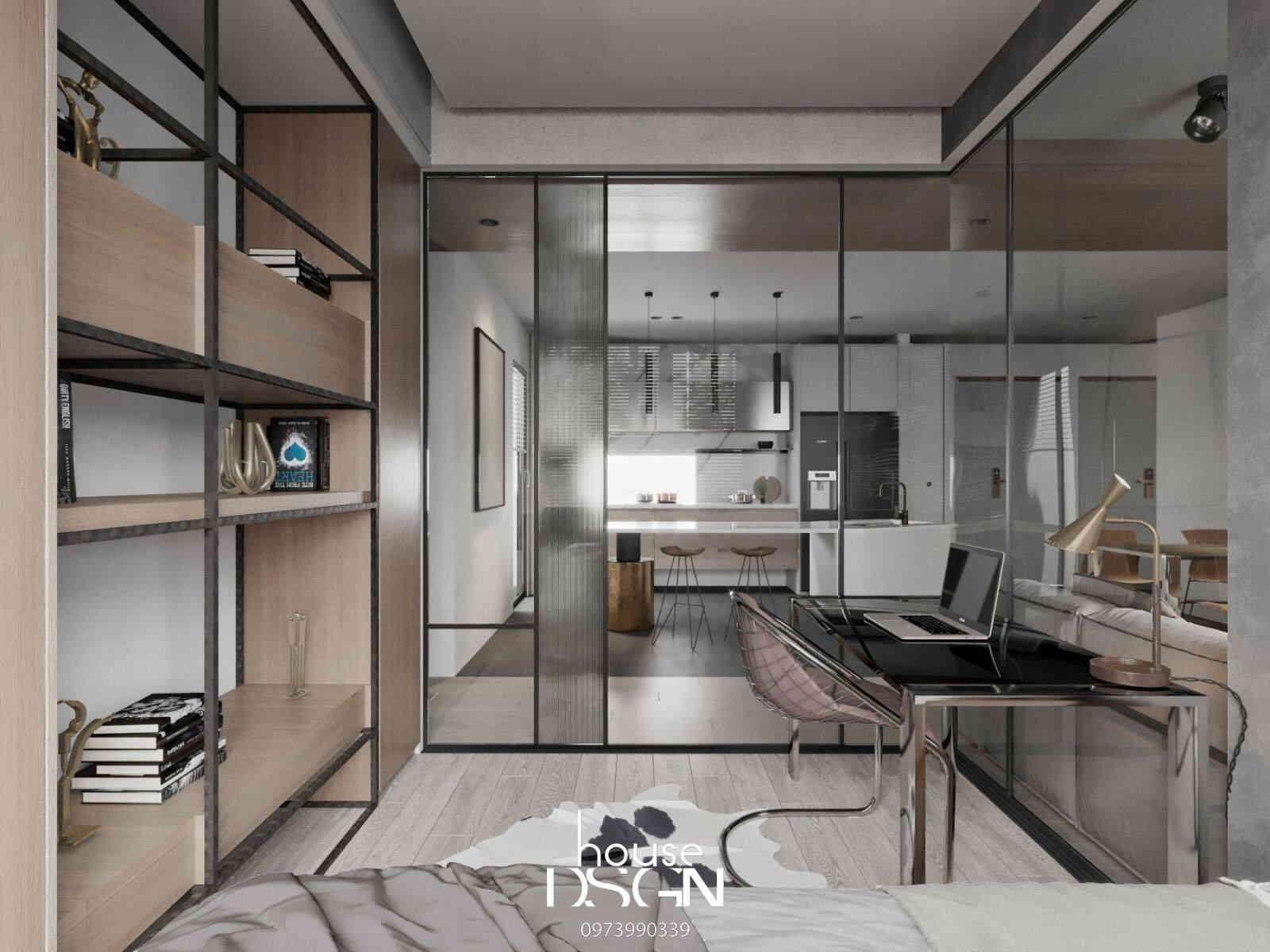 phòng ngủ căn hộ chung cư feliz en vista
