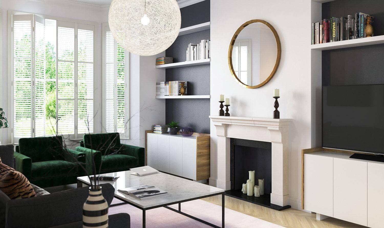 nội thất chiết trung cho không gian sống
