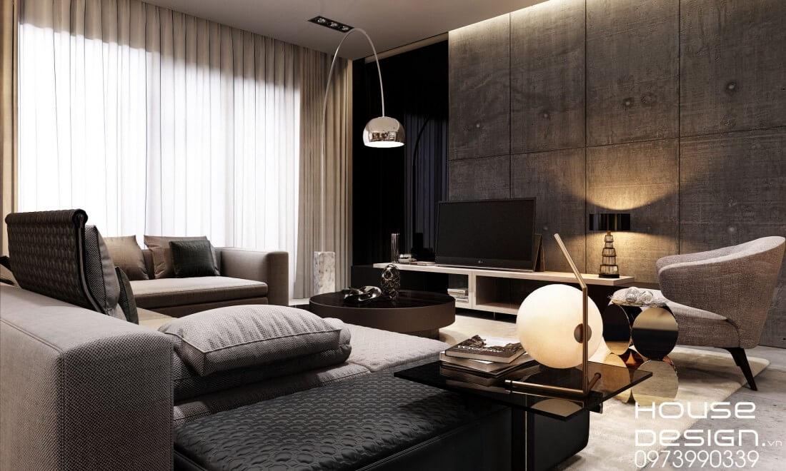các phong cách thiết kế nội thất hiện đại và sang trọng