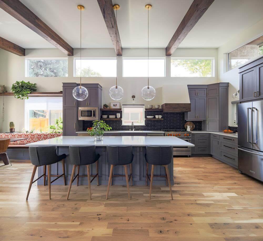 thiết kế không gian sống theo nội thất kiểu hàn