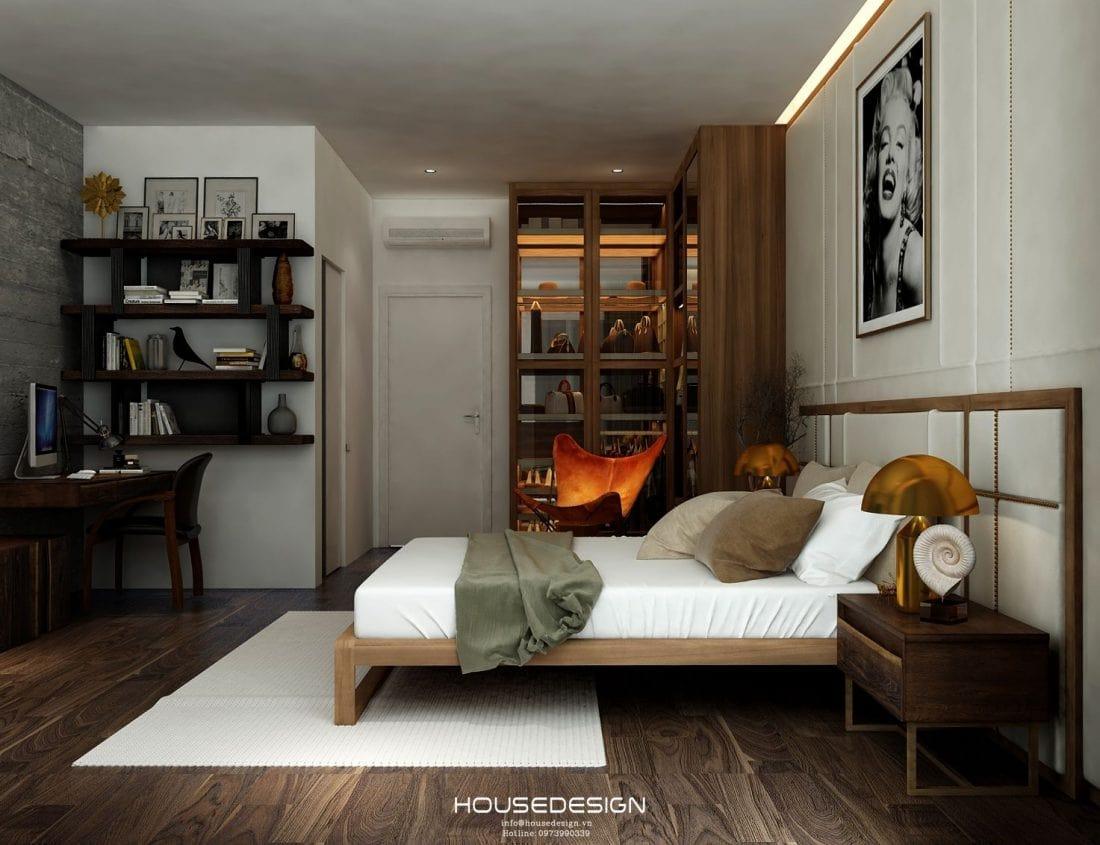 mẫu nội thất nhà phố hiện đại