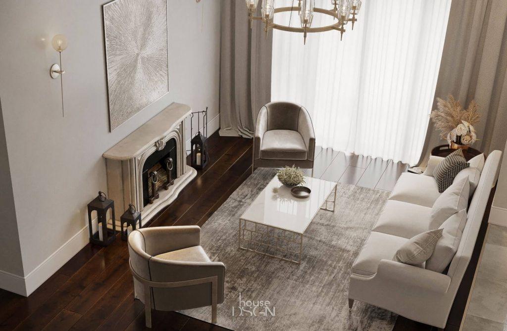 thiết kế nội thất theo phong cách á đông đẹp