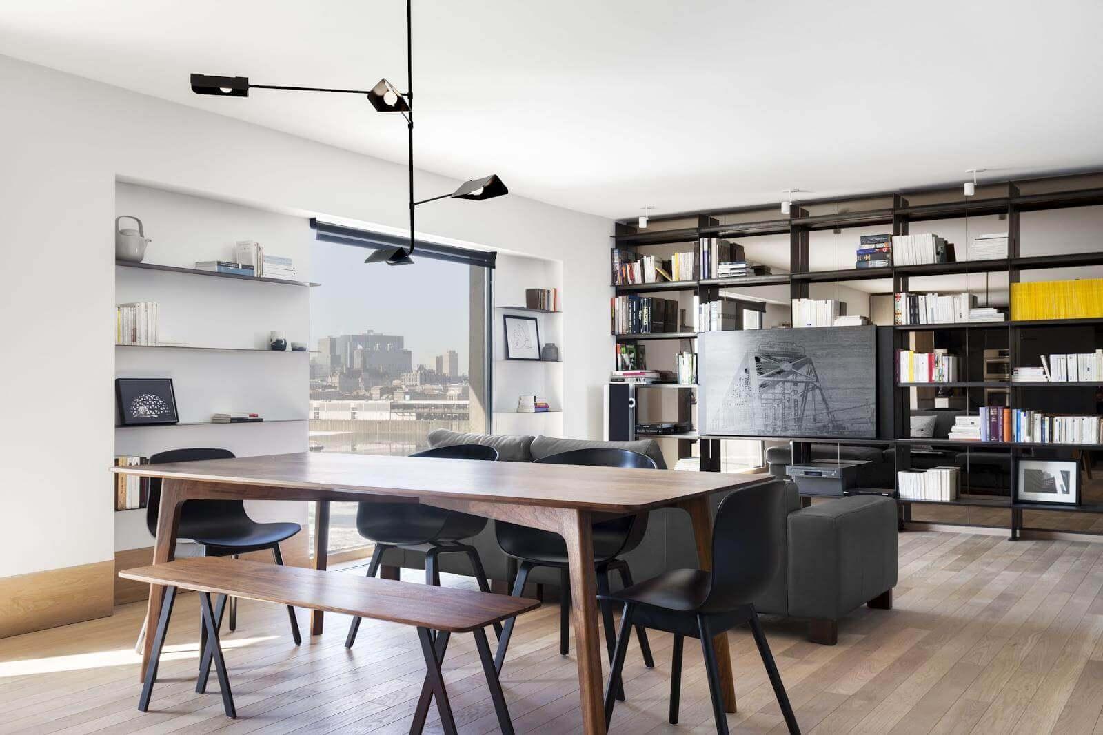 nội thất phong cách brutalism đẹp