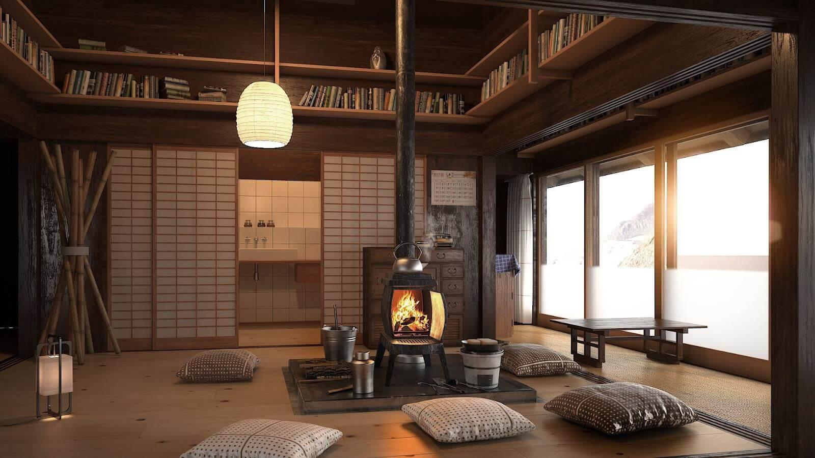 tìm hiểu nội thất phong cách Nhật Bản