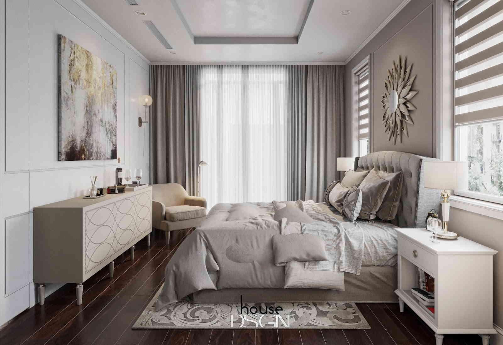 phong cách thiết kế nội thất cổ điển tiện nghi