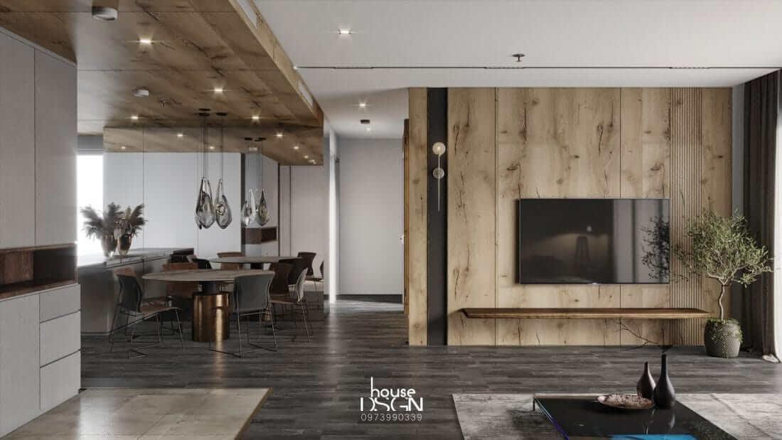 mẫu thiết kế căn hộ Riviera Point 3 phòng ngủ