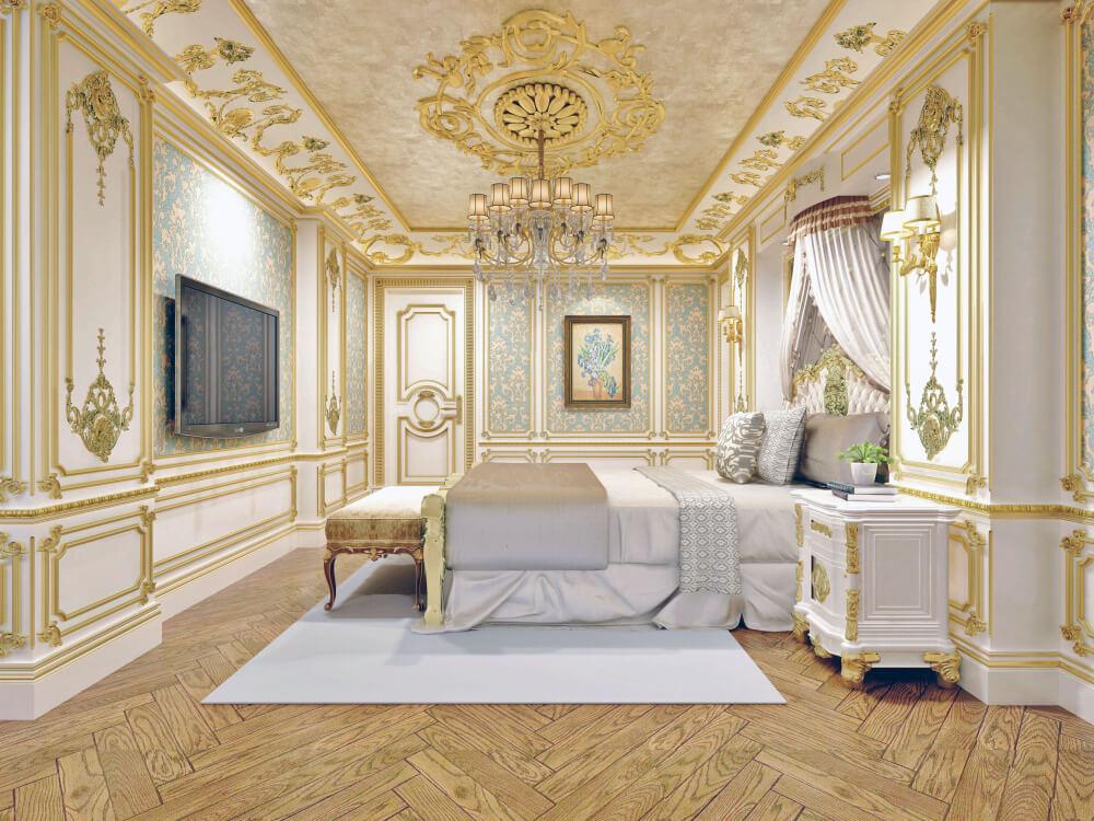mẫu nội thất tân cổ điển đẹp