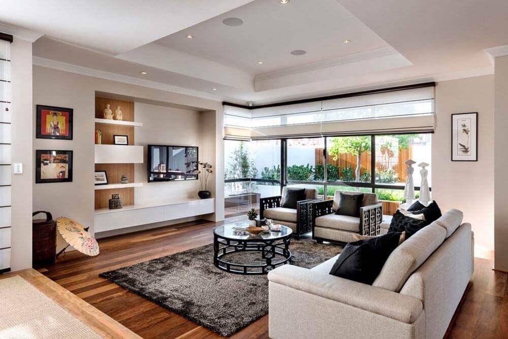 mẫu phong cách á đông trong thiết kế nội thất