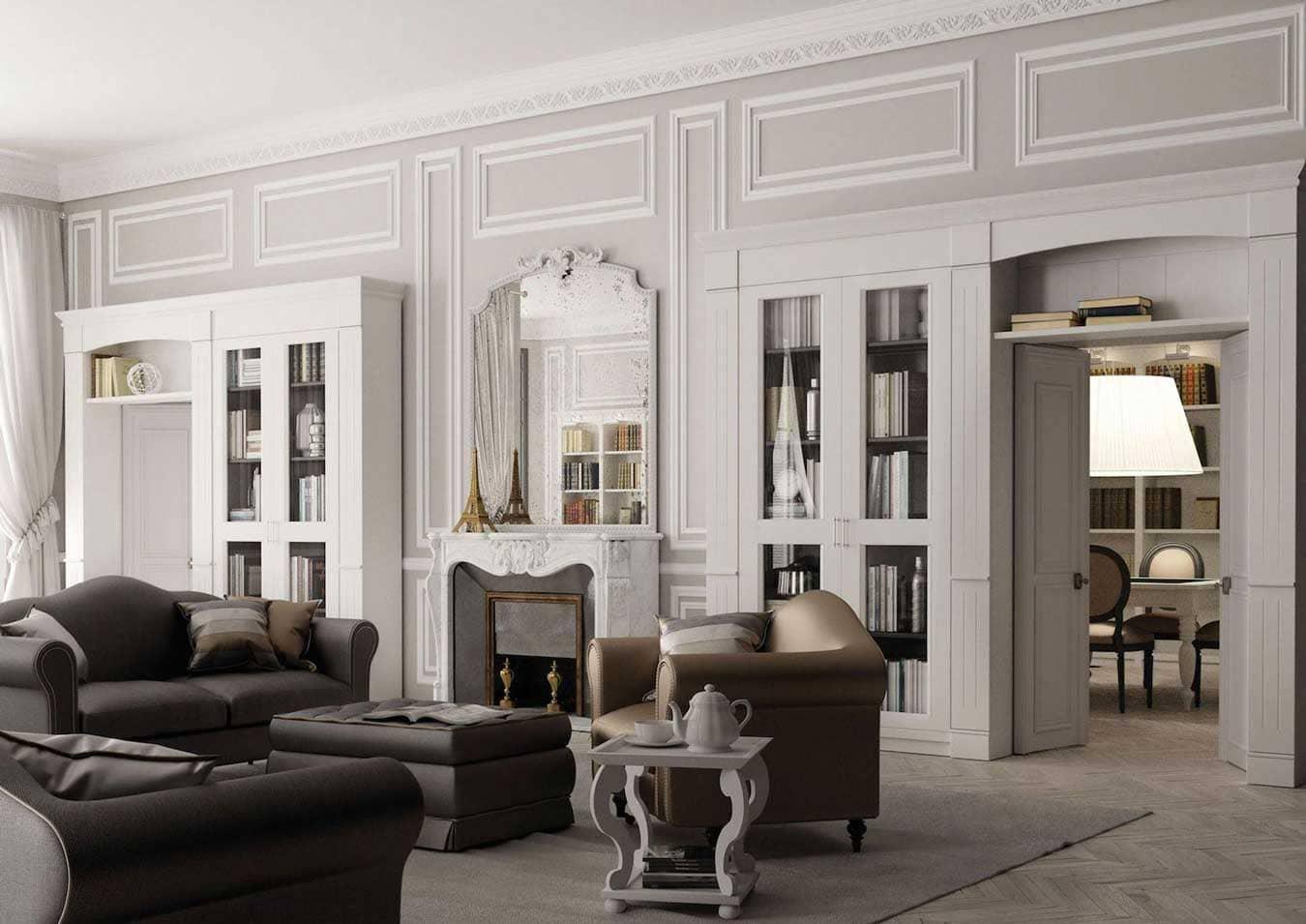 phong cách classic độc đáo - Housedesign