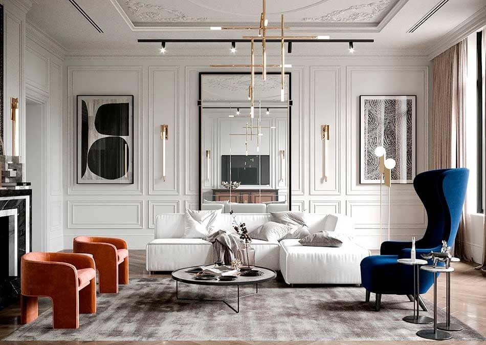 phong cách classic vintage - Housedesign