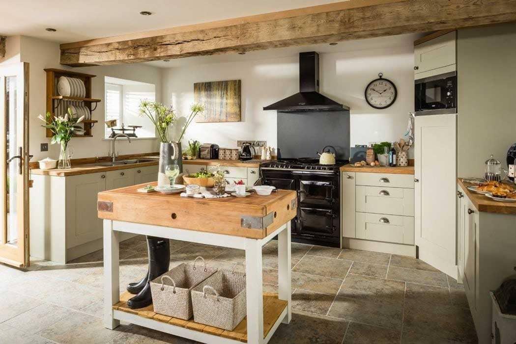 Phong cách country trong nhà bếp nội thất gỗ - Housedesign