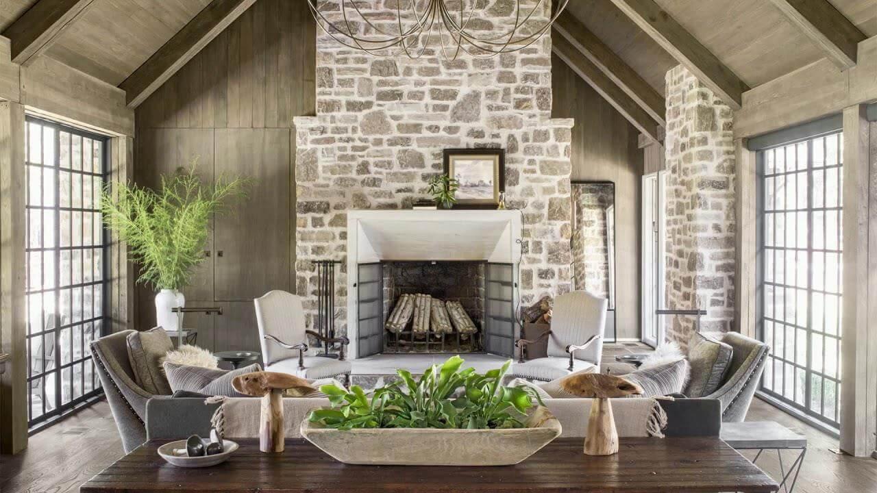 mẫu phong cách country trong thiết kế nội thất