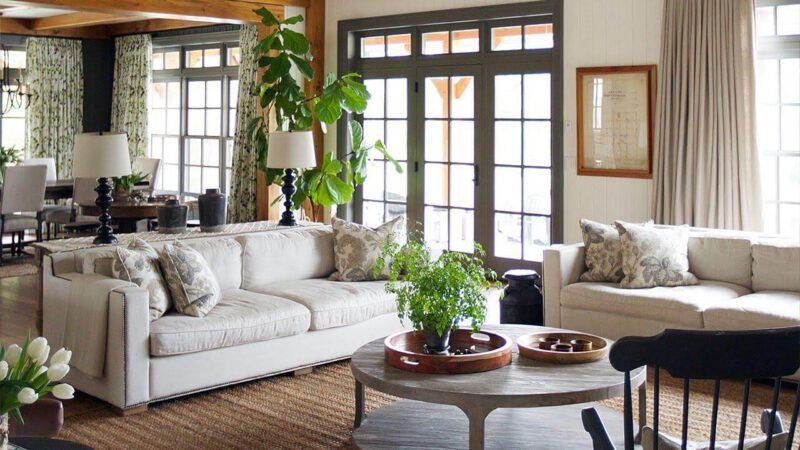 phong cách đồng quê trong thiết kế nội thất