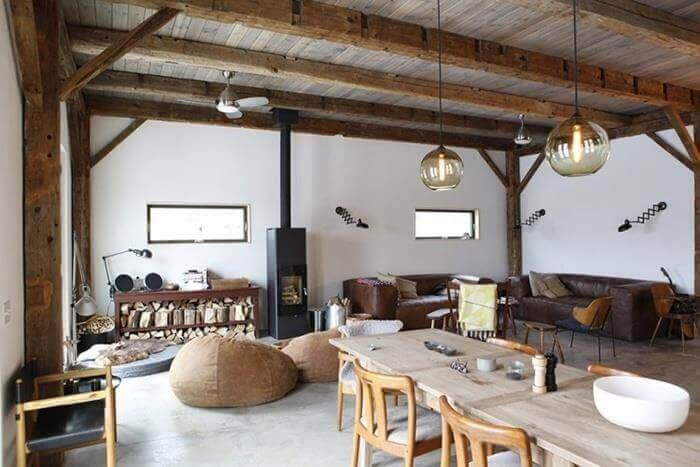 Thiết kế nội thất phong cách thô mộc Brutalism | Housedesign