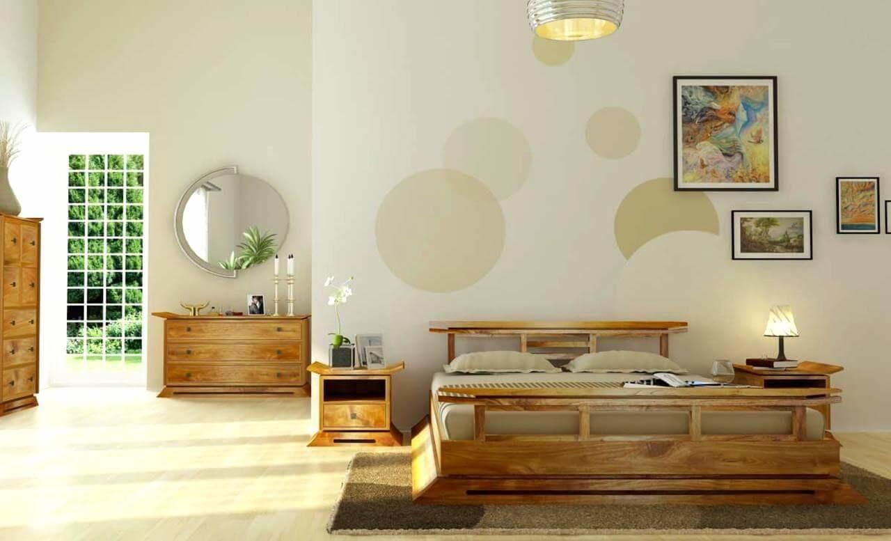 trang trí phòng ngủ theo phong cách nội thất nhật bản