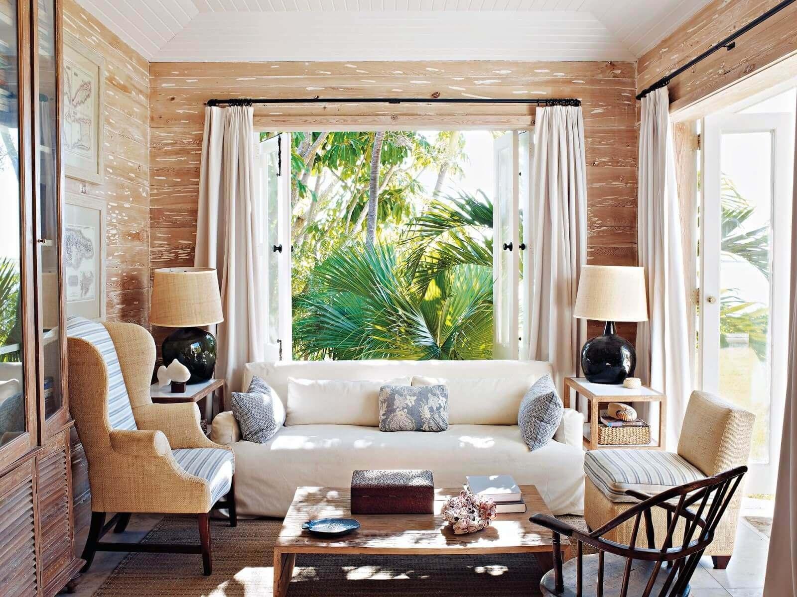 Phong cách nhiệt đới trong thiết kế nội thất đẹp
