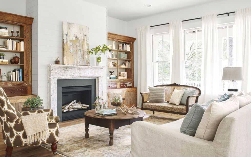 phong cách nội thất đồng quê đẹp - Housedesign