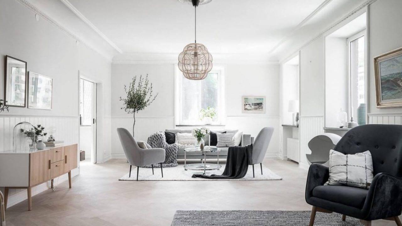 thiết kế phong cách nội thất tối giản