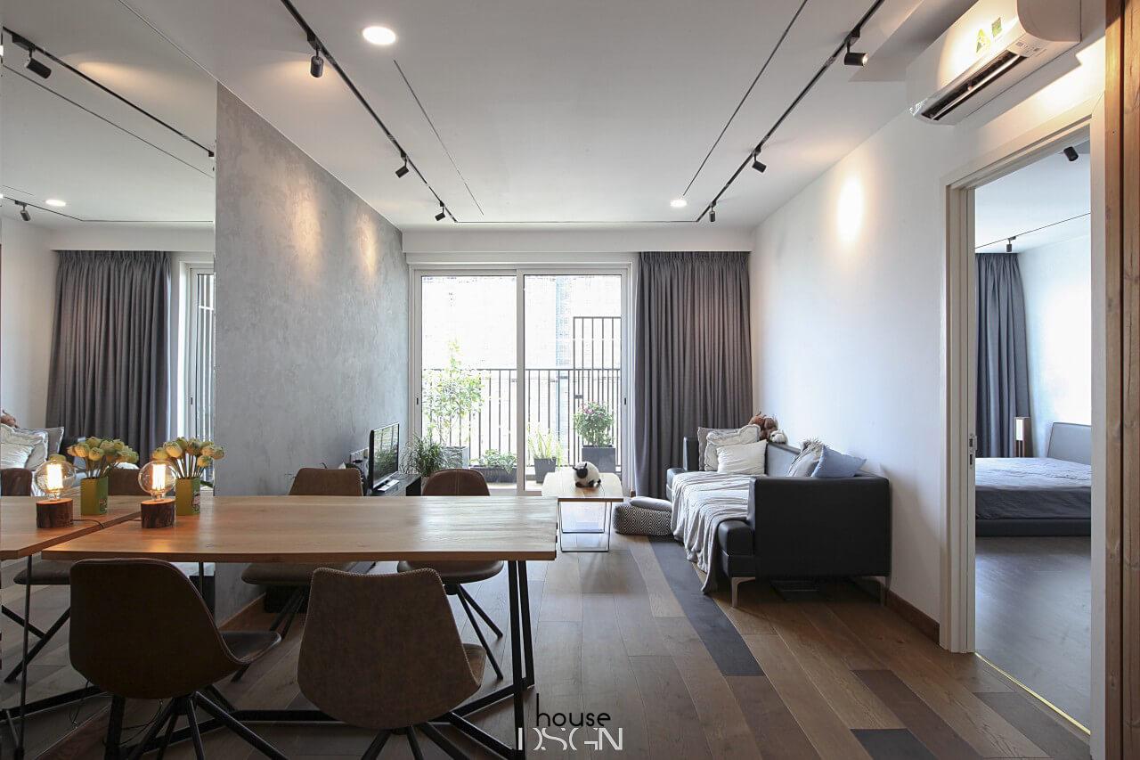 mẫu phong cách thiết kế nội thất hiện đại