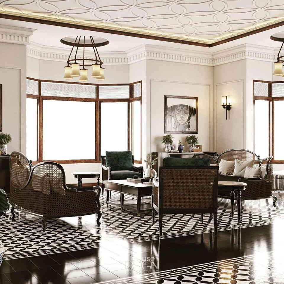 phong cách thiết kế nội thất indochine - Housedesign