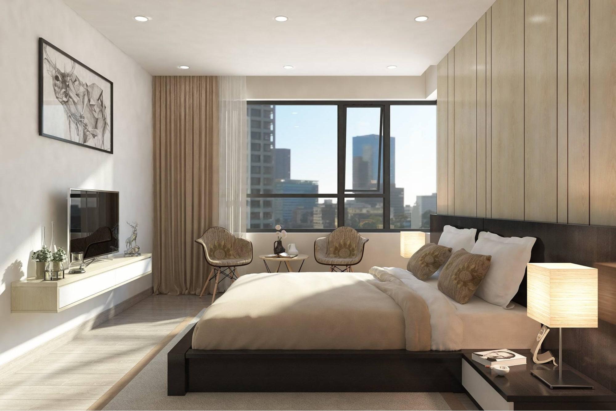 mẫu phong cách thiết kế nội thất khách sạn đẹp