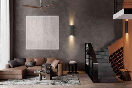 phong cách thiết kế nội thất mix match - Housedesign