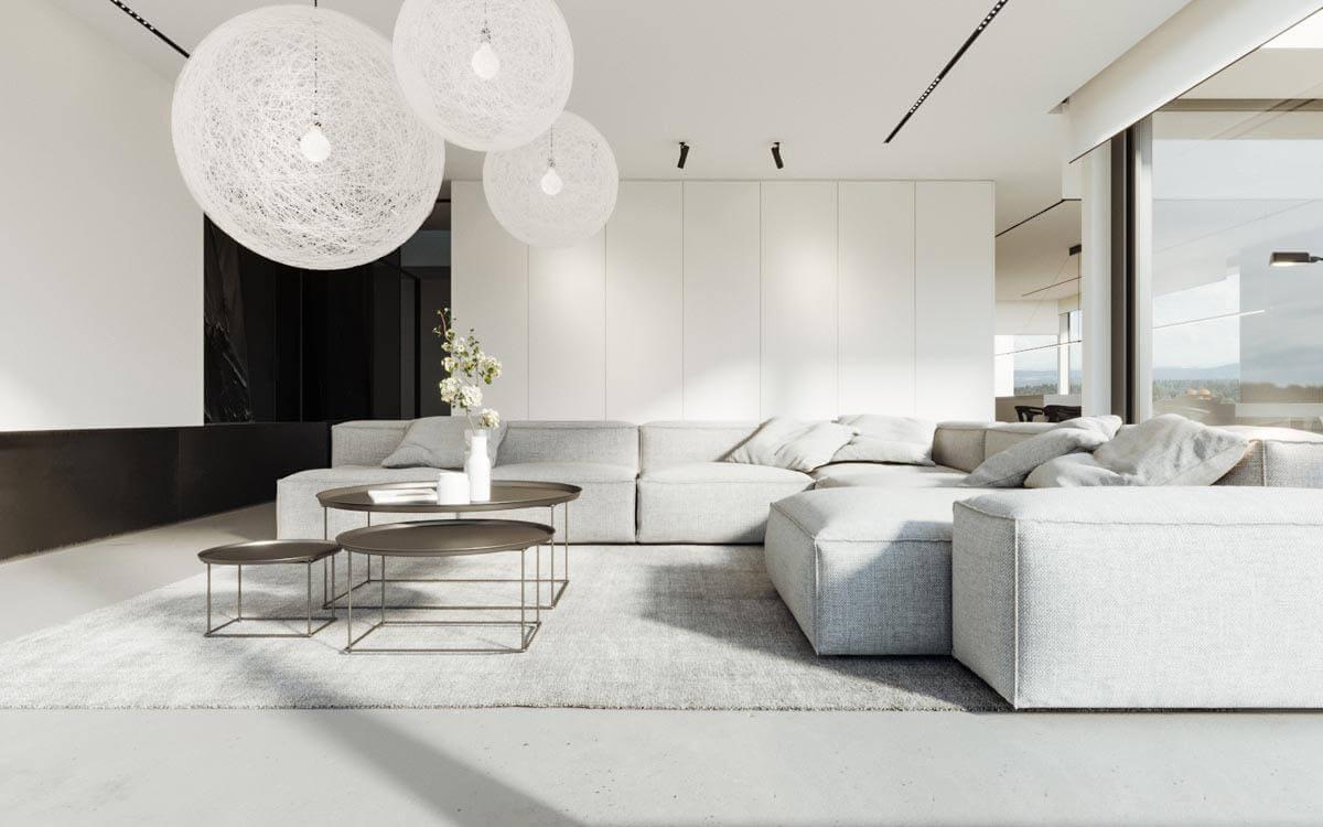 thiết kế phong cách tối giản trong nội thất đẹp