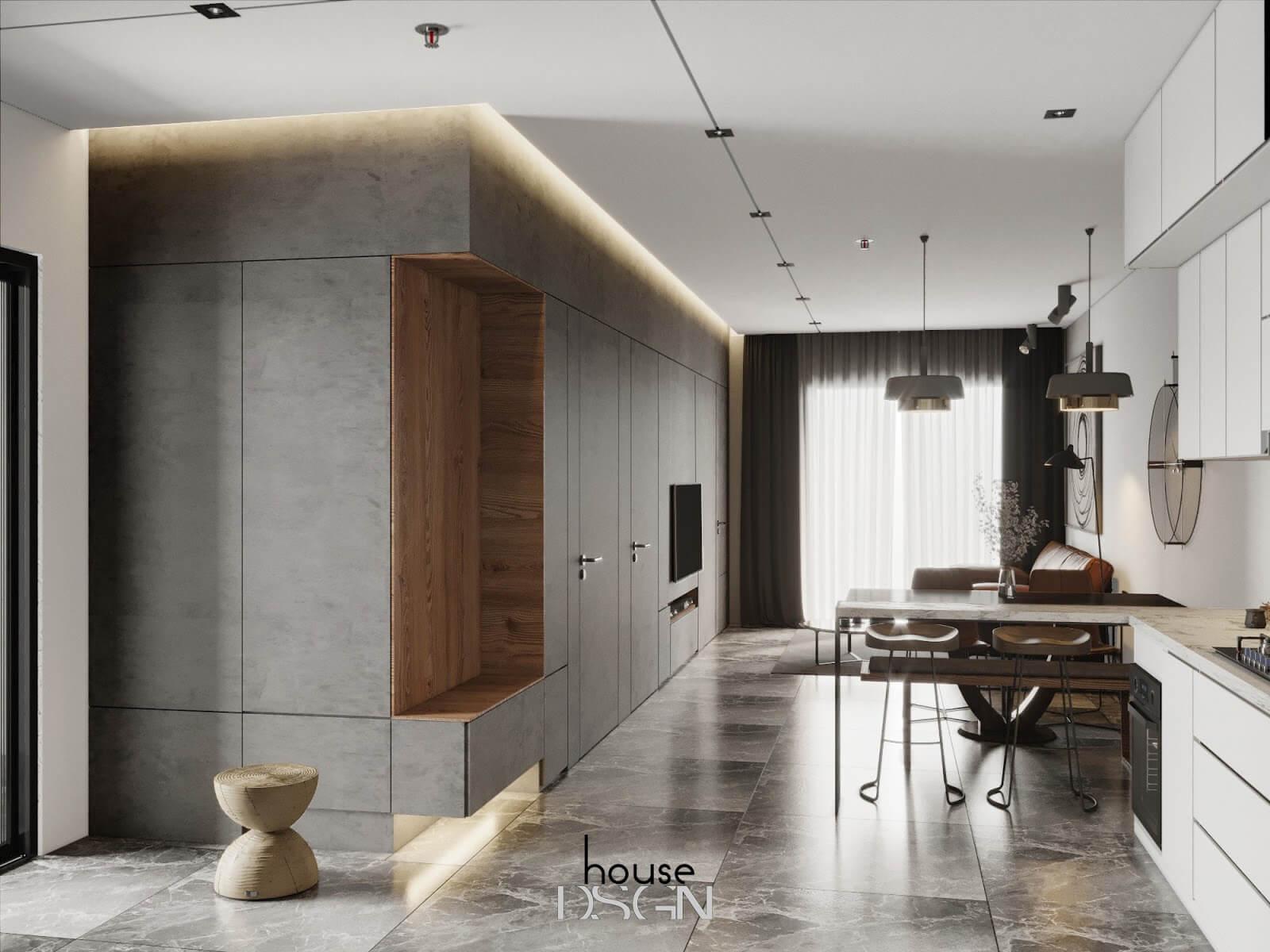 phong cách thiết kế nội thất urban chuyên nghiệp